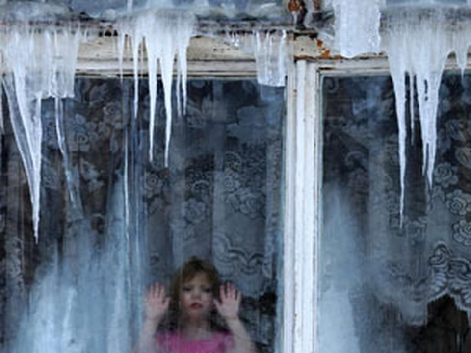 Февраль выдался в этом году очень холодным.