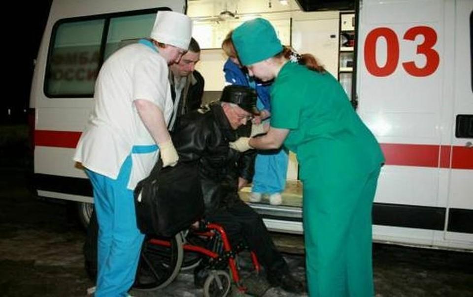 75-летнему участнику голодовки на восьмой день понадобилась госпитализация.
