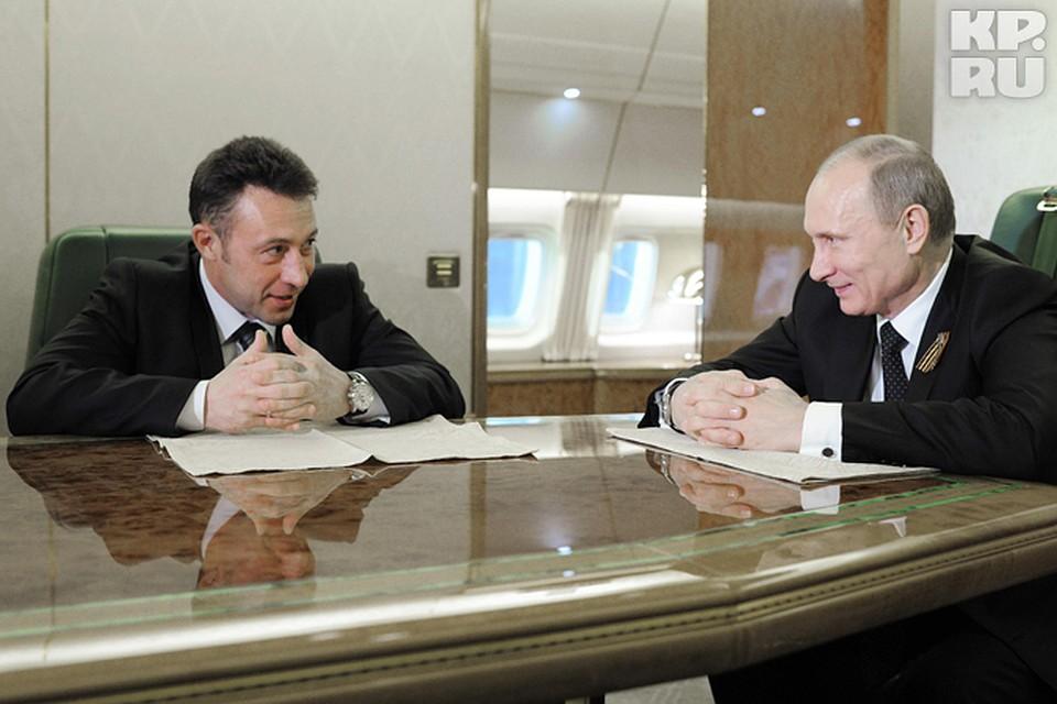 Картинки по запросу Игорь Холманских и Путин