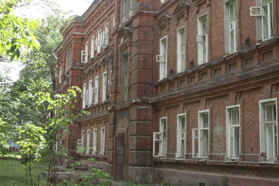 Дом для служащих Ярославской большой мануфактуры.