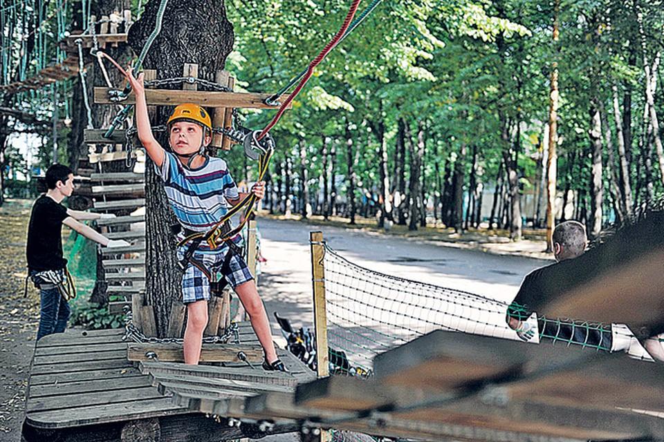 Этим летом в парках Западного округа найдется занятие и для любителей активного отдыха, и для желающих просто погулять.