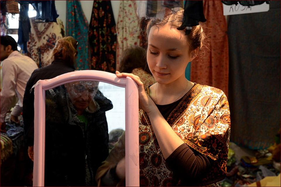 До нас выставка «Товары из Индии» побывала в десятках других российских городов.