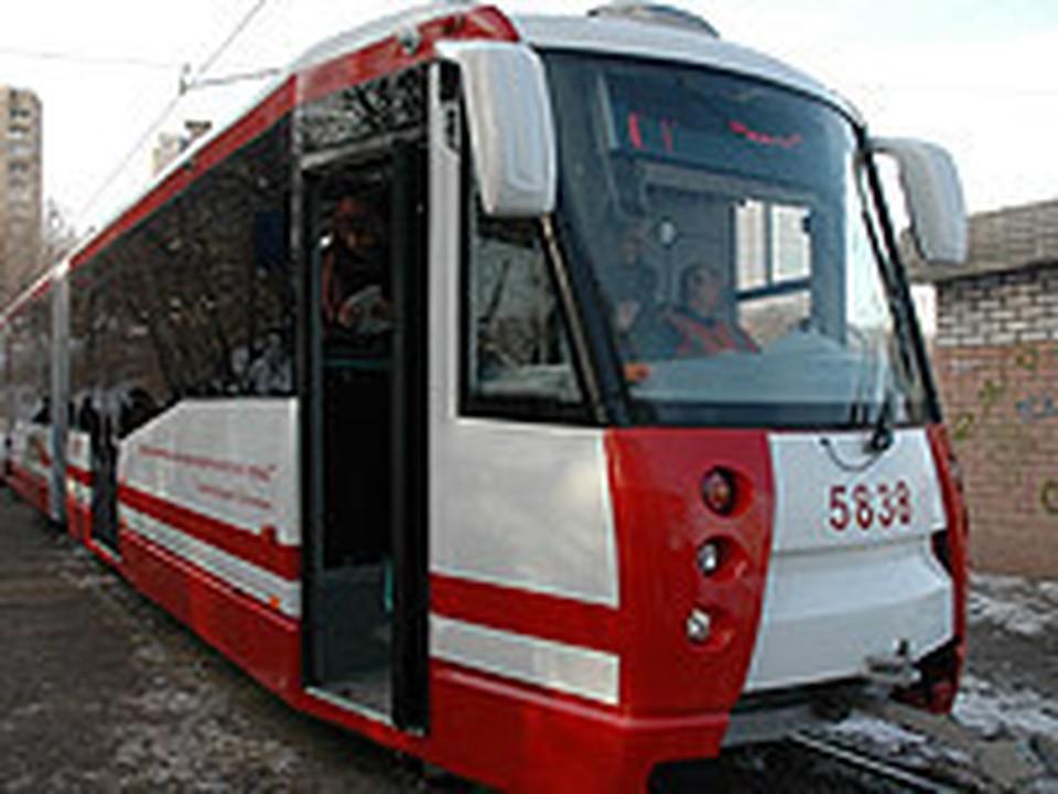 Первый современный трамвай пустили в Волгограде в конце декабря прошлого года.