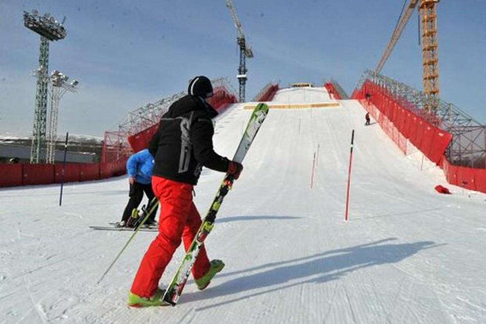 На склонах Сочи можно будет увидеть сильнейших лыжников страны