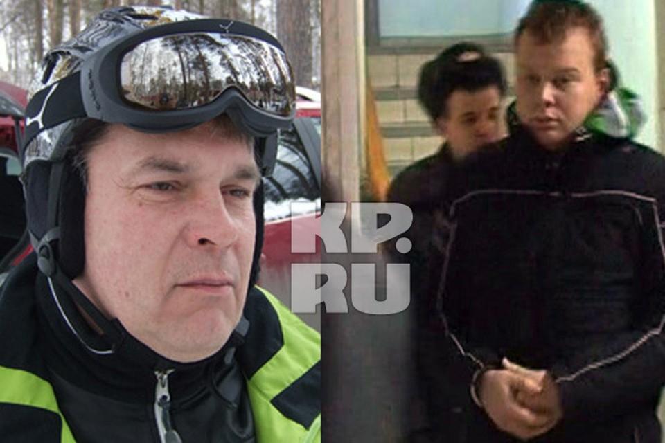 Павел Бровкин (справа) был под кокаином, когда в упор стрелял в Олега Спиридонова.