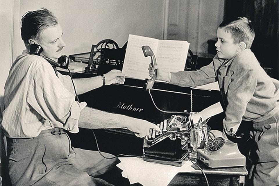 В жизни Никиты Сергей Владимирович появлялся тогда, когда был реально необходим. Фото сделано в 1952 году.