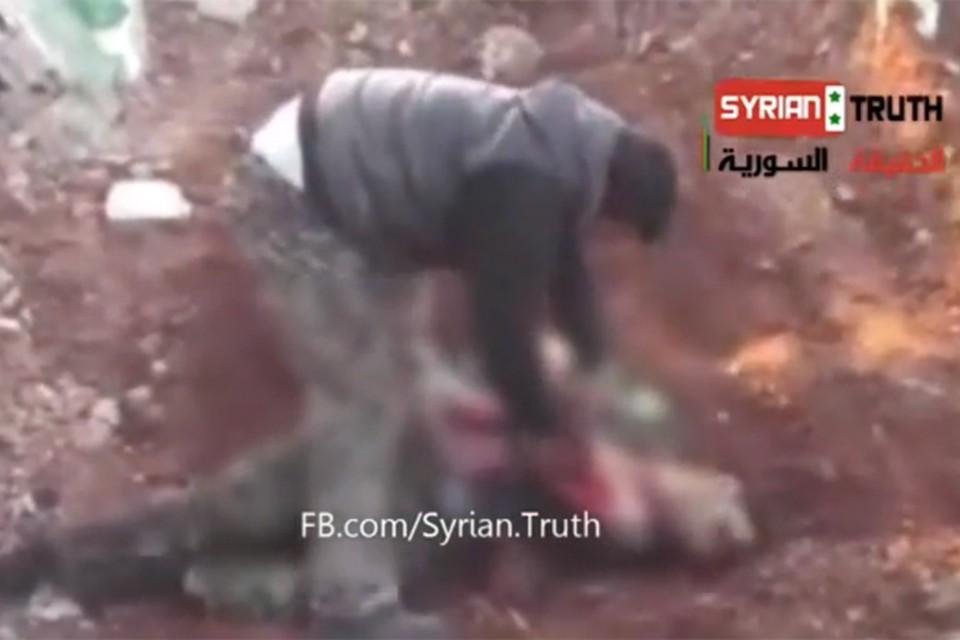 Когда-нибудь подобный эпизод наверняка появится в голливудском триллере о том, как свободолюбивый народ Сирии свергал ненавистный диктаторский режим