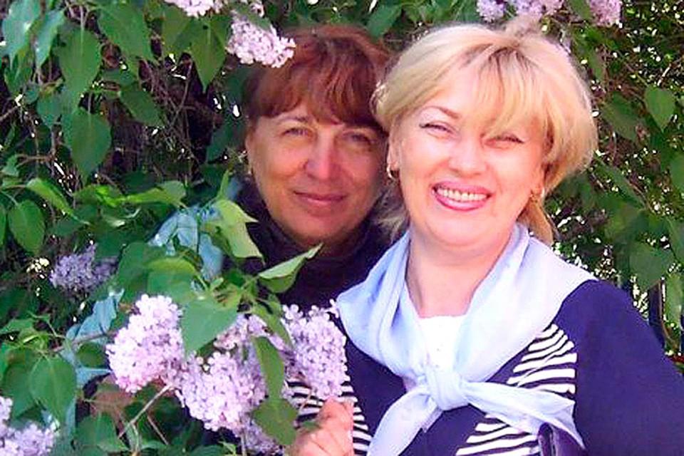 Марина Ступич и Светлана Шамаева