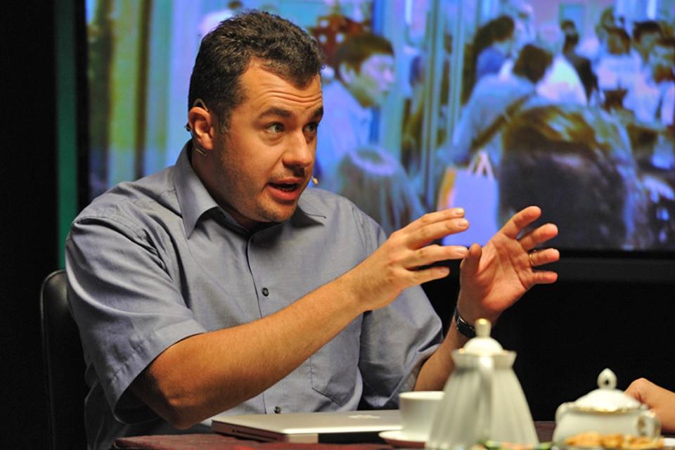 Антон Хреков в гостях у радио и телеканала «Комсомольская правда»