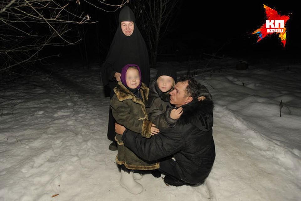 Александр встретился с детьми и бывшей женой Ольгой, ныне инокиней Еленой.