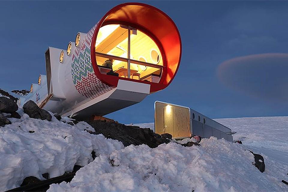 Самый высокогорный в мире отель построили на Эльбрусе: 3912 метров!