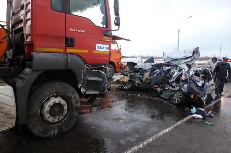 Страшная авария под Вологдой: мать и отец погибли, сын в коме