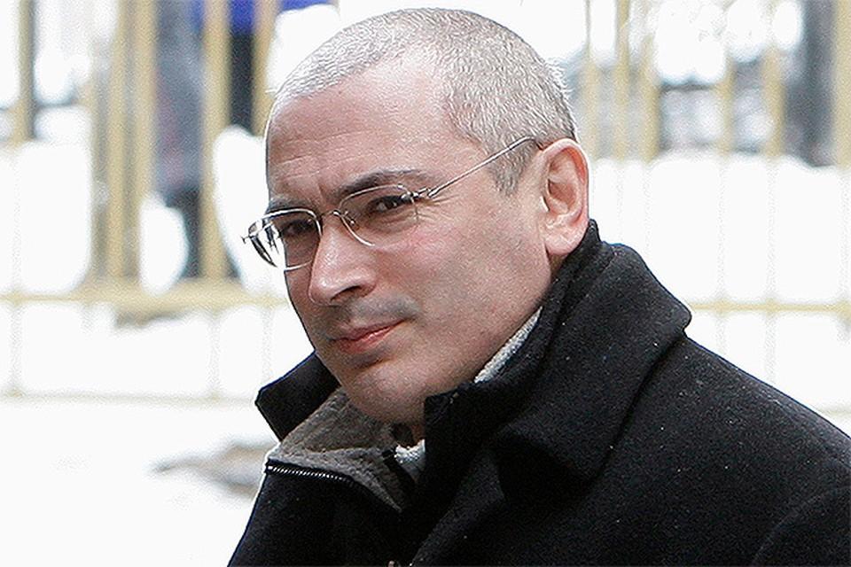 Сразу после освобождения из колонии, Ходорковский вылетел в Европу