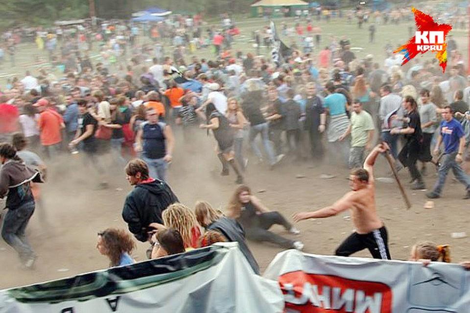 Челябинский суд отпустил по амнистии участников бойни на фестивале в «Торнадо»