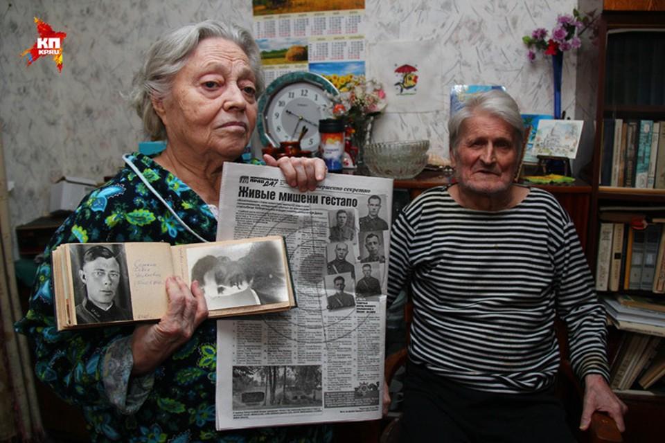 """Благодаря """"Комсомолке"""" нижегородка узнала, где 70 лет назад погиб ее отец."""