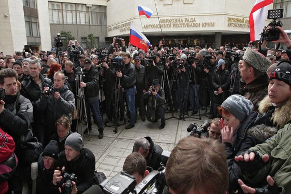 Власти Крыма заявили о попытке захвата Совмина и Верховного Совета