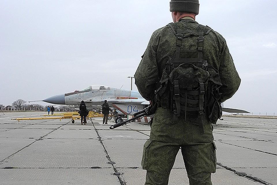База Украинских ВВС в Бельбеке уже несколько дней контролируется «вежливыми вооруженными людьми»