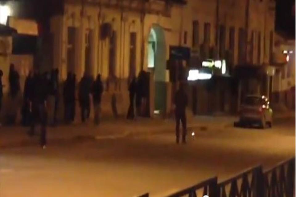 В Харькове начались столкновения, слышны выстрелы
