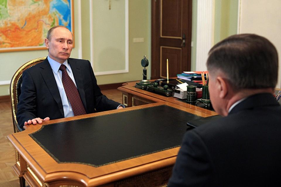 Вячеслав Лебедев рассказал президенту, как начатый в прошлом году процесс объединения двух главных судов России
