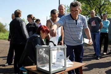 Голосование в Донецке: интересно же! Как ни крути, история