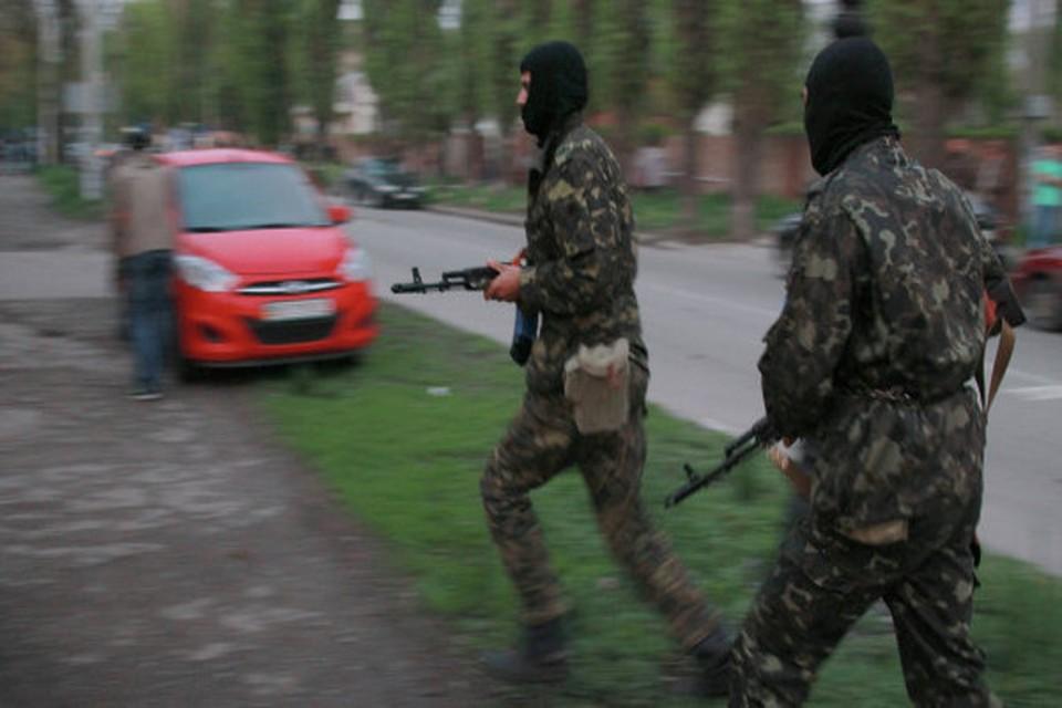 В Донецке подожгли дворец спорта