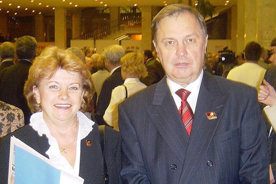 """Юрий Вербицкий вместе с женой Натальей, которую в Тынде когда-то называли """"железной леди""""."""