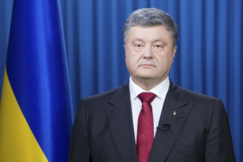 Петр Порошенко выступил с обращением к украинскому народу