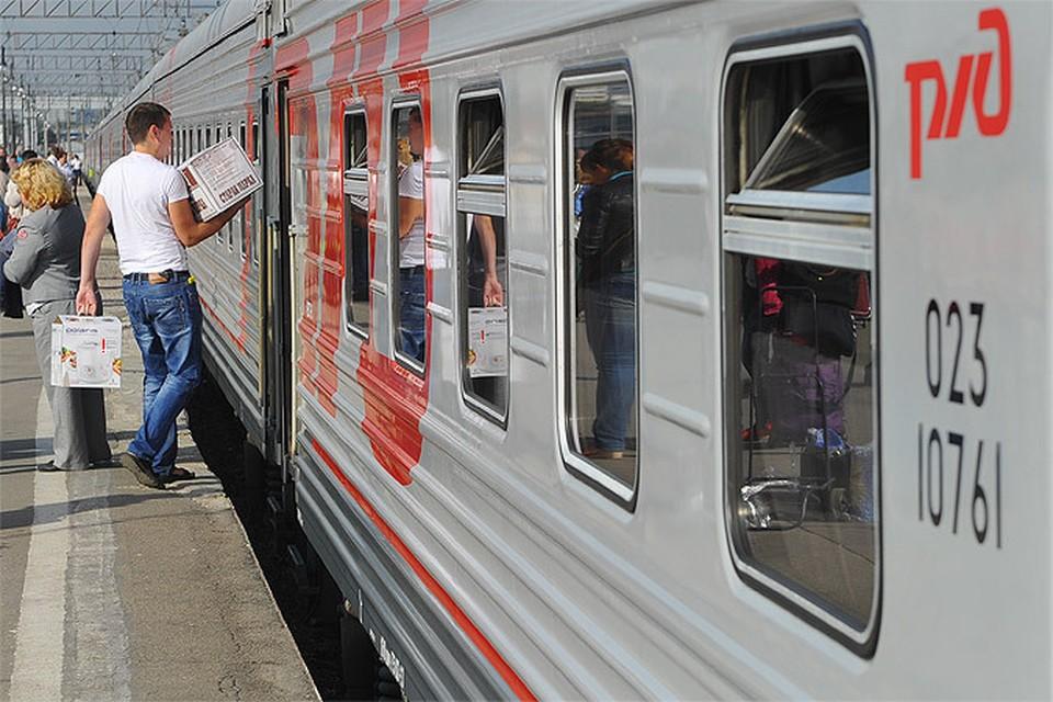 Открыта продажа билетов на прямые поезда в Симферополь