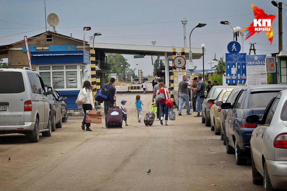 Поток беженцев с Украины продолжает расти