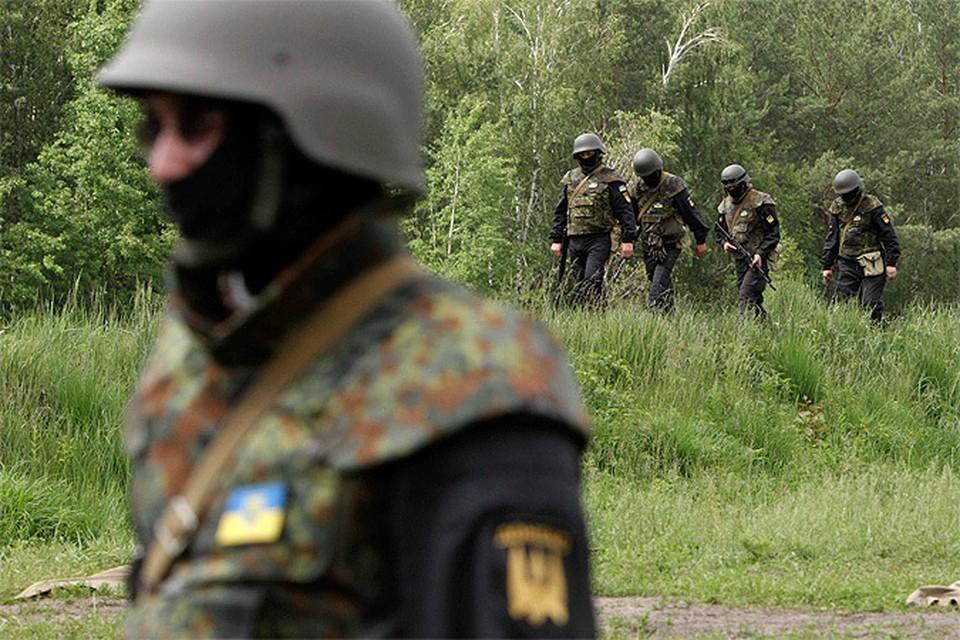 В карательной операции на Украине участвуют иностранные наемники.