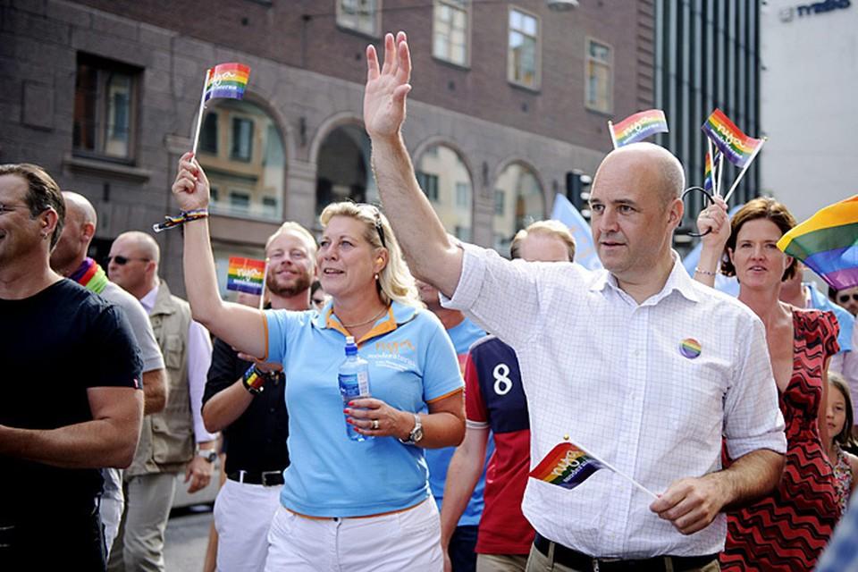 Премьер-министр Швеции с удовольствием посещает гей-парады
