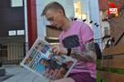 Сыктывкарец набил на руке выпуск «Комсомолки» за 9 мая 45-го