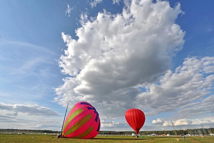 Прекрасная погода подыграла устроителям и гостям фестиваля.
