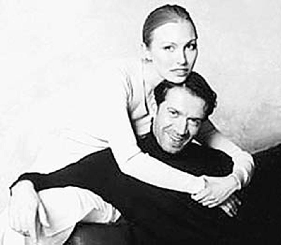 Машков и его сегодняшняя жена Ксюша.