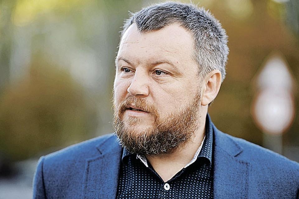 Председатель народного совета ДНР Андрей Пургин.