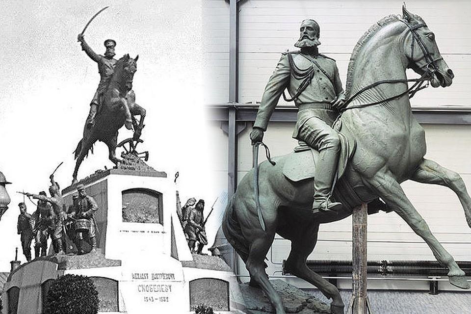 В Москве вновь будет установлен памятник Михаилу Скобелеву