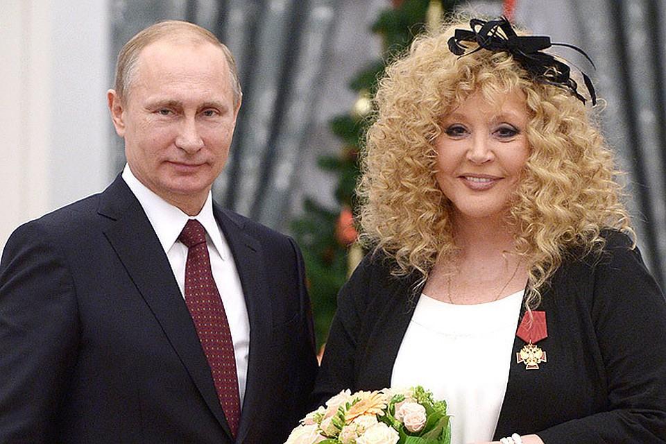 Путин занимается сексам с аллой борисовной