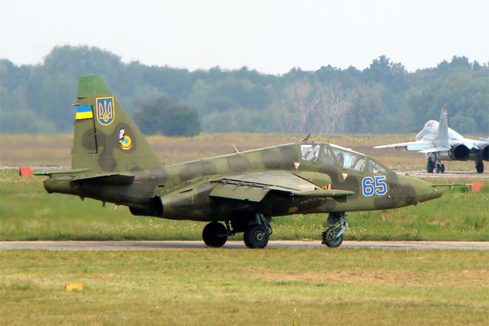 "Такой же Су-25 мог сбить ""Боинг"", в котором находились 298 человек. Фото: wikimedia.org"