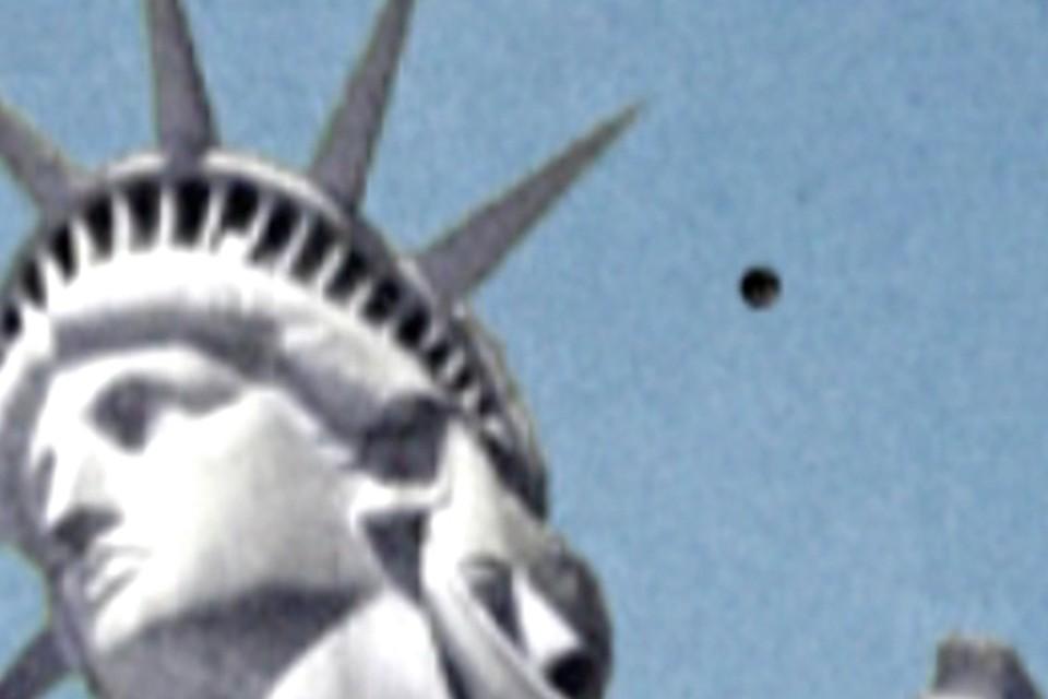 Декабрьское явление НЛО народу Северной Америки стало самым запоминающимся в этом году Фото: кадр с видео Youtube