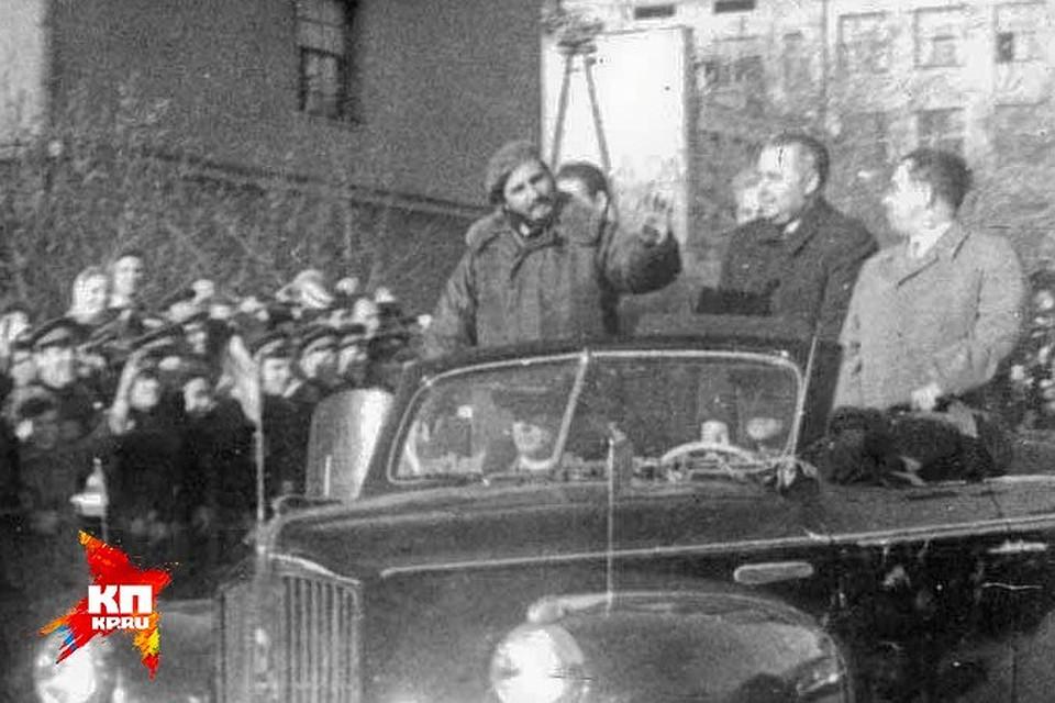 фидель кастро в ленинграде сроков