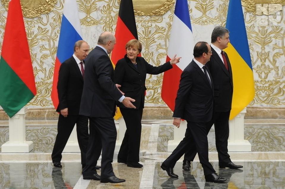 «Нормандская четверка» в Минске: переговоры по Украине.