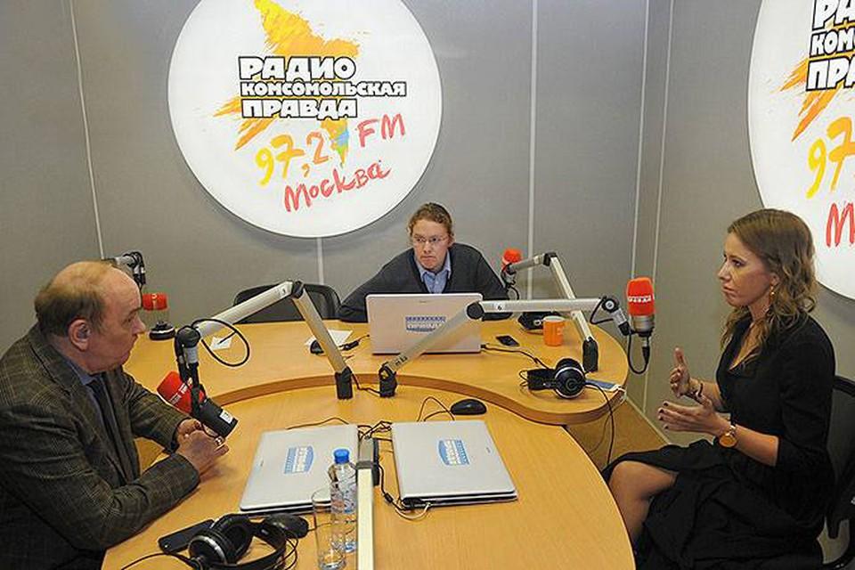 Продолжение скандала в прямом эфире Радио «КП».