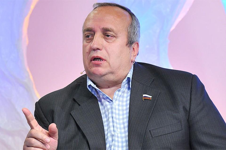 Депутат Госдумы, лидер Российского Союза ветеранов Афганистана Франц Клинцевич