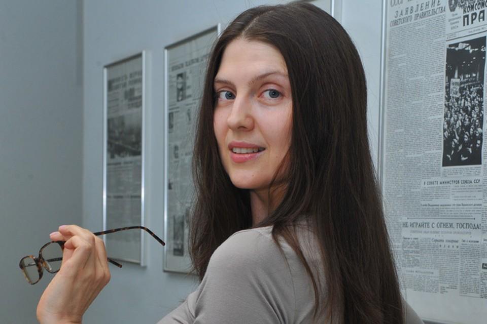Шеф-редактор сайта KP.RU Олеся Носова