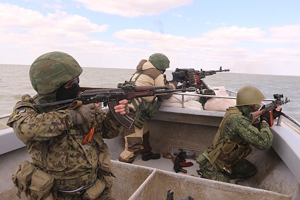 В составе Азовской флотилии Донецкой народной республики имеются катера нескольких типов