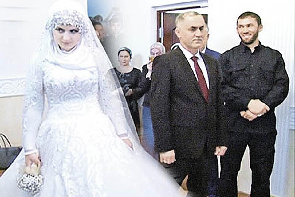 Опубликованы фото и видео со скандальной свадьбы в Грозном 9