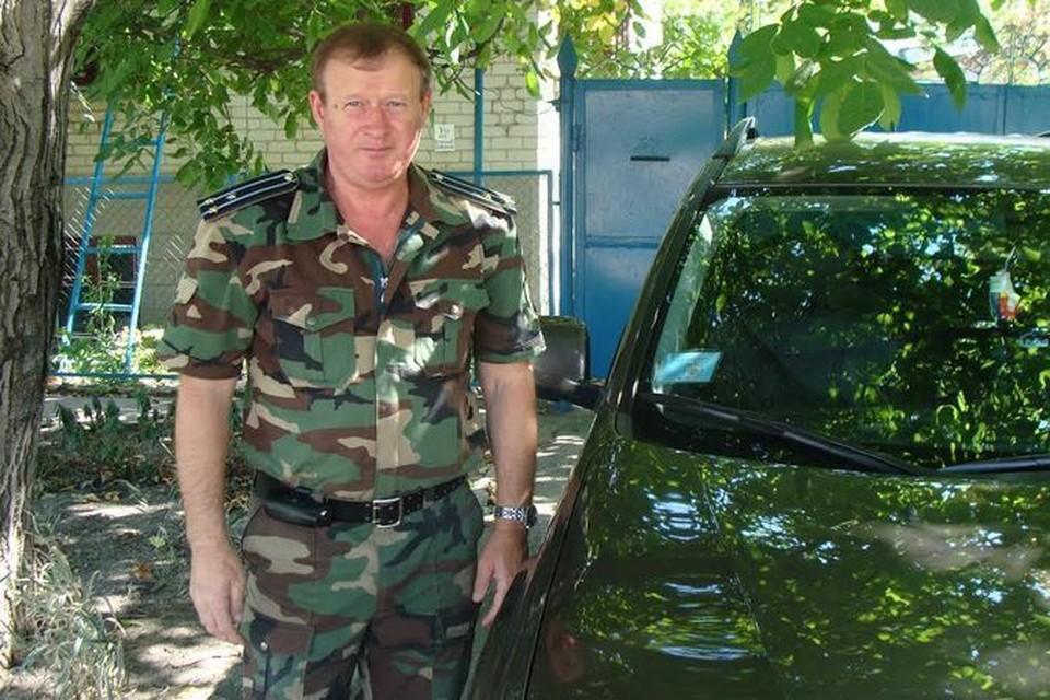 Атаман Юрий Чуреков.