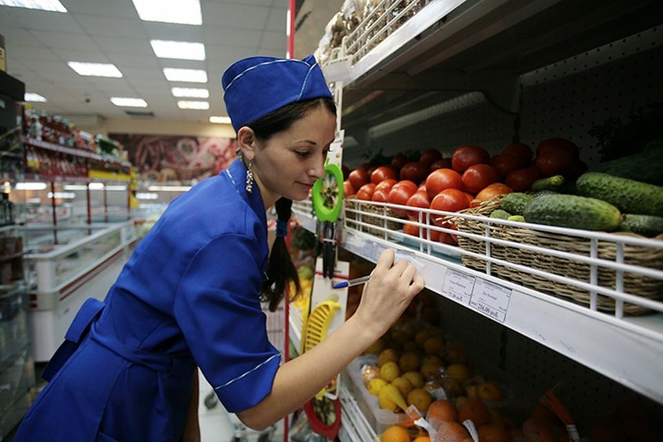 Росстат, впервые за последний год, зафиксировал, что цены на продукты стали снижаться