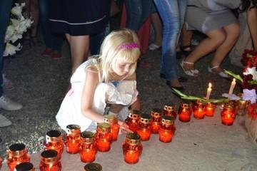В Крымске почтили память погибших в разрушительном наводнении