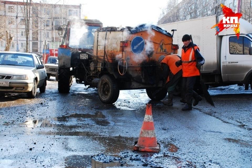 Из-за плохой дороги в поселке Старки в Ижевске не ходит автобус